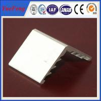 Buy cheap 6063 aluminium angle extrusion profiles for solar panel frame product