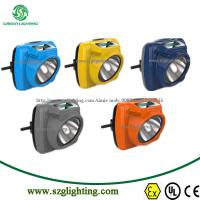Buy cheap IP68, 1.3W,6000lux,2.6Ah,New Digital Cordless LED Miner Cap Lamp from wholesalers