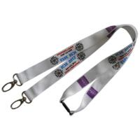 Buy cheap Colorful Logo Printed Lanyard   Sublimation Printing Eco Friendly from wholesalers
