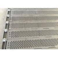 Buy cheap Perforated Plate Conveyor Belt High Density Product Transformation Anti Corrosion from wholesalers