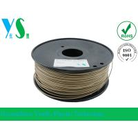 Quality Markerbot 3mm Wood 3D Printer Filament Dark Brown With 200mm Spool for sale