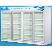 Buy cheap Grocery 0 - 10°C Glass Door Freezers Frost Free With Copeland Compressor from wholesalers