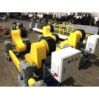 Buy cheap Heavy Duty Pipe Rollers / Pipe Welding Rollers With PU Wheels , 40T Capacity from wholesalers