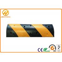 Buy cheap 1M Reflective Heavy Duty Rubber Speed Bump for Road Safety / Residential from wholesalers