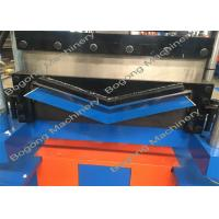 Buy cheap Roof Top Ridge Cap Roll Forming Machine / Equipment With Automatic Stop Device from wholesalers