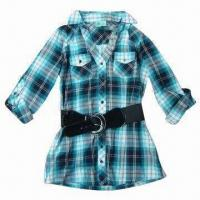 Buy cheap Stocks Women's Blouse, Stock Lots, Stock Clothes, Stock Garment, Made of 100% Cotton from wholesalers