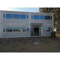 Buy cheap Wind Resistance Flat Pack Containers / Storage Container Homes With Sandwich Panel from wholesalers