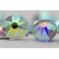 Buy cheap 16 Cutting High quality K9 Crystal Glass Flat Back Hot Fix Rhinestones for Shoe or Garment Decorations from wholesalers