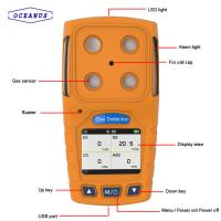 Buy cheap OC-904A Portable Hydrogen Cyanide HCN gas detector with the measuring range of 0~50ppm product