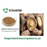 Buy cheap Lentinan Antibacterial Plant Extracts , Concentrated Shiitake Mushroom Extract from wholesalers