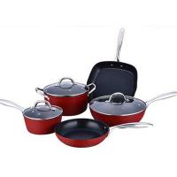Buy cheap Chinese high quality aluminum nonstick cookware set from wholesalers
