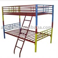Buy cheap kids metal frame bunk bed from wholesalers