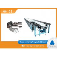 Buy cheap Small Cleated Belt Chain Conveyor Stainless Steel Plate Chain Conveyor from wholesalers