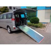 Buy cheap Aluminum Loading Wheelchair Ramp For Van Loading 350KG from wholesalers