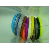Buy cheap Eco - Friendly Glossy PLA 3D Pen Filament Printing Temperature 180℃~240℃ product