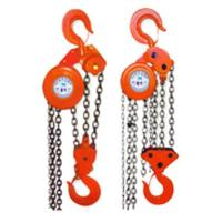 Buy cheap 0.5-10T HS-VT chain pulley block, 0.5ton manual chain hoist product