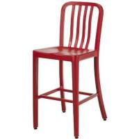 Buy cheap Red Contemporary Emeco Navy Counter Stools Replica , Kitchen Stools With Backs Stool from wholesalers