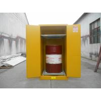 Buy cheap Yellow Industrial Flammable Safety Cabinets For Oil / Chemical Liquid Storage from wholesalers