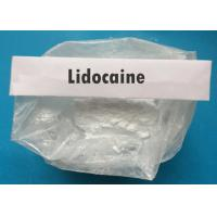 Buy cheap Pain Killer Local Anesthetic Agents Lidocaine Hydrochloride Powder 137-58-6 from wholesalers