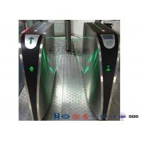 Buy cheap Electronic Flap Barrier Gate , Portable Temporary Road Retractable Security Gate Barrier product