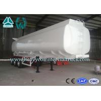 Buy cheap Q345 Carbon Steel Stainless Steel Tanker Trailers With Water Tank from wholesalers