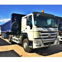 Buy cheap 12 Wheels Dump Truck Trailer 12R24 Tire 70 Tons Strengthened Tipping Type from wholesalers
