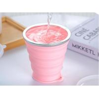 Buy cheap Food Grade Silicone Foldable Cup Silicone Collapsible Cup For Drinking from wholesalers