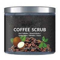 Buy cheap Private Label Natural Body Scrub Organic Arabica Coffee Skin Care Body Scrub from wholesalers