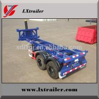 Buy cheap 40feet container trailers with hydraulic cylinder lift from wholesalers