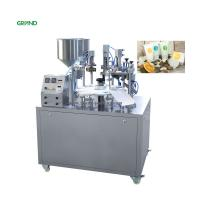 Buy cheap Cosmetics Composite Aluminum Tube Filling And Sealing Machine 304 Stainless Steel Parts product