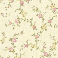 Buy cheap La Ville Lumiere Nonwoven Wallpaper, Flower Design, 53cm Width, Eco-friendly Water-based Ink from wholesalers