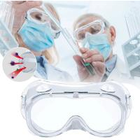 Buy cheap Chemical Splash Laboratory Medical Protective Glasses 3m Face Shield Safety Glasses from wholesalers