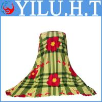 Buy cheap plaid baby print polar fleece fabric super soft kids blankets quilt for children from wholesalers