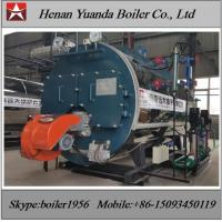 Buy cheap Industrial Fire tube 1 ton 2 ton  3 ton Diesel Oil / heavy oil Fired Steam Boiler from wholesalers