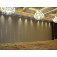 Buy cheap Restaurant lobby aisle movable wooden folding partition wall MDF Panel Customizable Color for Banquet Hall from wholesalers