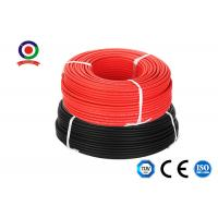Buy cheap H1z2z2-K 6mm Solar Dc Cable 1000VAC TUV Double Insulated For Photovoltaic System from wholesalers