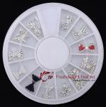 Buy cheap Nail Art Alloy Crystal Bow Mix Decoraiton wheel from wholesalers
