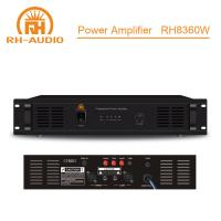 Buy cheap RH-AUDIO PA Power Amplifier with 70V/100V Transformer for Paging System from wholesalers