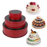 "Buy cheap Nonstick Leakproof 3pcs(4""/7""/9"") Springform Pan set, Cake Pan Bakeware Cheesecake Pan with 4pcs Egg Tart Mold from wholesalers"