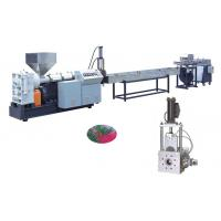 Buy cheap PP, PE, ABS, PC, PMMA Plastic Recycling Pellet Machine For Granular High Precision from wholesalers