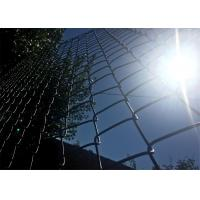Buy cheap heavy duty chain link fencing/9 gauge chain link fence fabric/black vinyl chain link fence from wholesalers