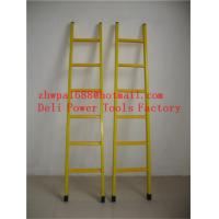 Buy cheap Single step extension FRP ladder,Easy handing fiberglass foldable ladder from wholesalers