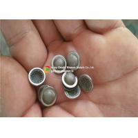 Buy cheap Extra Small Size Ss Mesh Filter Chemical Resistance With Metal Frames product