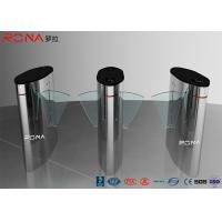 Buy cheap Turnstile Flap Barrier Gate Barcode Scanner Electronic 304 Stainless Steel Material product