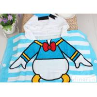 Buy cheap Boys / Girls Hooded Poncho Towels Donald Duck Mickey Mouse Shape Comfortable from wholesalers