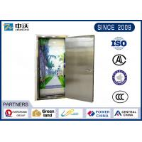 Eco Friendly Sliver Fireproof Steel Door Strong Temperature Resistance