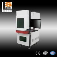 Buy cheap Industrial Fiber Laser Marking Equipment / Laser Marker Machine for Plastic Animal Ear Tag from wholesalers