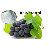 Buy cheap Natural Antioxidants Resveratrol For Cancer , Anti Aging Steroids CAS 501-36-0 from wholesalers