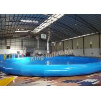 Buy cheap Durable Quick - Set Round Inflatable Pool For Summer Family / Outdoor Garden from Wholesalers