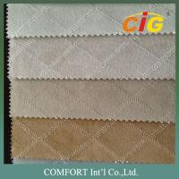 Buy cheap Classical Polyester Punch / Embroidery Suede Sofa Fabric / Furniture upholstery from wholesalers